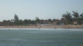 Geriba beach in Buzios, Brazil. Shot of Geriba beach in Buzios, Brazil stock video footage