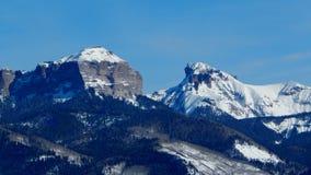 Gericht-Berg und Abgrund-Spitze Stockbild
