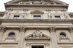 Gericht der Aufhebung von Paris Frankreich lizenzfreies stockbild