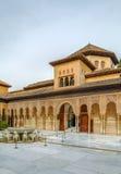 Gericht der Löwen, Alhambra, Granada Stockfotos