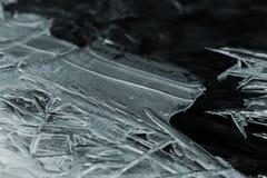 gericht ijs op kreek royalty-vrije stock foto