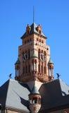 Gericht und Adler in Waxahachice, Texas Stockbild