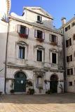 Gericht in Venedig lizenzfreie stockbilder