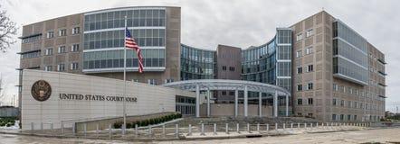 Gericht Vereinigter Staaten in Jackson, Mississippi Stockbilder