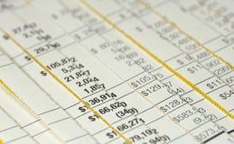 Gerichtliche Buchhaltung Lizenzfreies Stockfoto