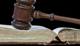 Gerichtsentscheidungen Stockfotografie