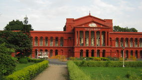 Gerichtsgebäude Stockbild