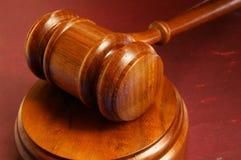 Gerichtshammer Lizenzfreies Stockfoto