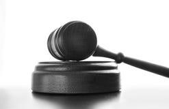 Gerichtshammer lizenzfreies stockbild