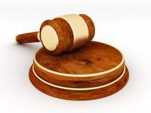 Gerichtsutensilien Stockfoto