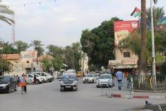 Gerico centrale, Palestina Immagini Stock Libere da Diritti