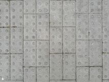 Geriebene Beschaffenheit des Blockes Ziegelsteine stockfotos