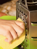 Geriebener Käse Lizenzfreie Stockbilder