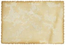 Geriffelte Rand-Karte Lizenzfreies Stockfoto