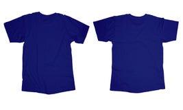 Gerimpeld Blauw Overhemdsmalplaatje royalty-vrije stock foto