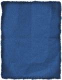 Gerimpeld jeansflard Stock Afbeelding