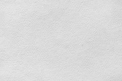 Gerimpelde (document) textuur Blad van wit waterverfdocument Royalty-vrije Stock Fotografie