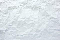 Gerimpelde document textuurachtergrond Stock Foto