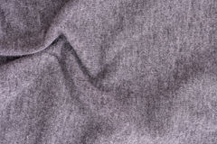 Gerimpelde donkere stof Stock Fotografie