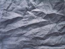 Gerimpelde donkergrijze natuurlijke linnenstof Royalty-vrije Stock Fotografie