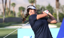 Gerina piller at the ANA inspiration golf tournament 2015 Stock Photography