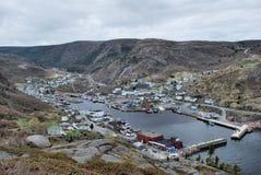 Geringfügiger Hafen Neufundland Stockfotos