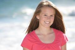 Geringfügiges gesundes jugendlich Mädchen Lizenzfreies Stockfoto