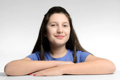 Geringfügiges Mädchen Lizenzfreies Stockfoto