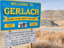 Gerlach, Nevada Stock Photos