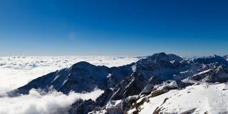 Gerlach Peak (2655 m). Panorama view of Gerlach Peak (2655 m), High Tatras mountains, Slovakia Stock Photography