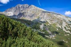 Gerlach Peak In High Tatras, Slovakia Royalty Free Stock Photo