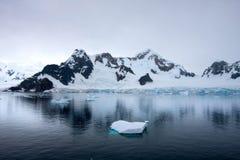 Gerlache cieśnina, Antarctica Obraz Royalty Free