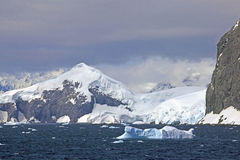 Gerlache cieśnina, Antarctica Zdjęcia Stock
