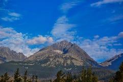 Gerlachovský Peak Stock Image