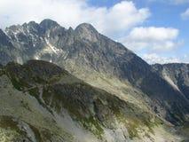 Gerlachs peak Stock Image