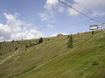Gerlitzen一座山在奥地利 库存图片