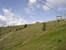 Gerlitzen ein Berg in Österreich Stockbilder