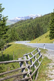 Gerlos pass, a toll road in Austria Stock Photography