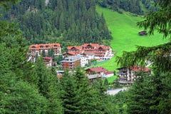 Cityscape of Gerlos in Tirol Austria Royalty Free Stock Photos