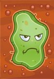 Germ. A germ or virus in the bloodstream Stock Images