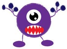 Germ cartoon Royalty Free Stock Image