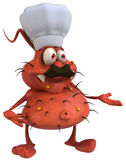 Germ chef Royalty Free Stock Photos