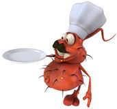 Germ chef Stock Photography
