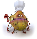 Germ chef Royalty Free Stock Photography
