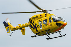 German ADAC helicopter Christoph 22 in action Stock Image
