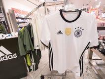 German Adidas jersey Stock Photo