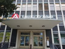 German Agentur fur Arbeit Stock Images