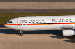 German Airforce Airbus 340 VIP Stock Photography