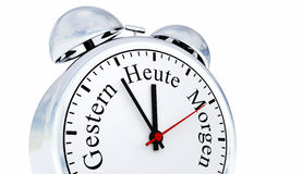 German alarm clock Royalty Free Stock Images
