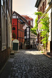 German alley in Schwerin, Mecklenburg, Germany Royalty Free Stock Photography
